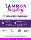 TAMPON TUESDAY POSTER - JUNE 04 2019 - BARRIE
