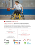 Sport for Life-INCLUSIVE PHYSICAL LITERACY WORKSHOP SSM-1