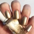 gold essie polish