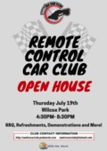 Remote Control Car Open House