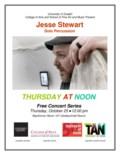 Oct25-2018-TAN-JesseStewart Poster-1