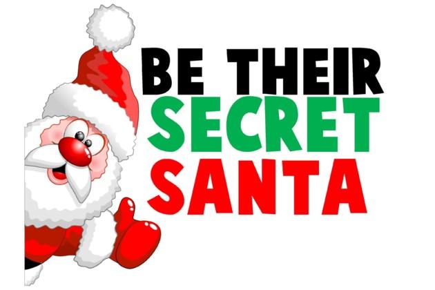 Be Their Secret Santa Logo