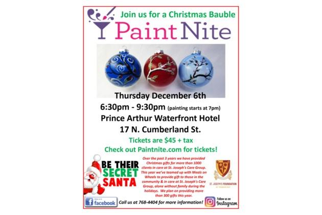 Paint Nite Poster 8.5 x 11 - Dec 6