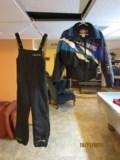POLARIS Ladies Small 2piece snowmobile suit