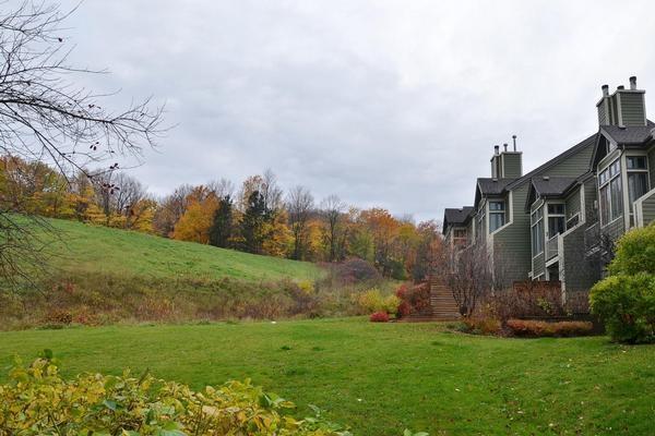 Autumn View of Chateau Ridge