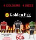 BBQ EGG 50% OFF REG 4 COLOURS 4 SIZES copy