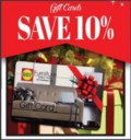 GIFT CARDS 10 PERCENT OFF copy