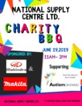 Charity BBq poster