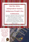 Red Sky Métis Independent Nation's Aboriginal Day Celebration