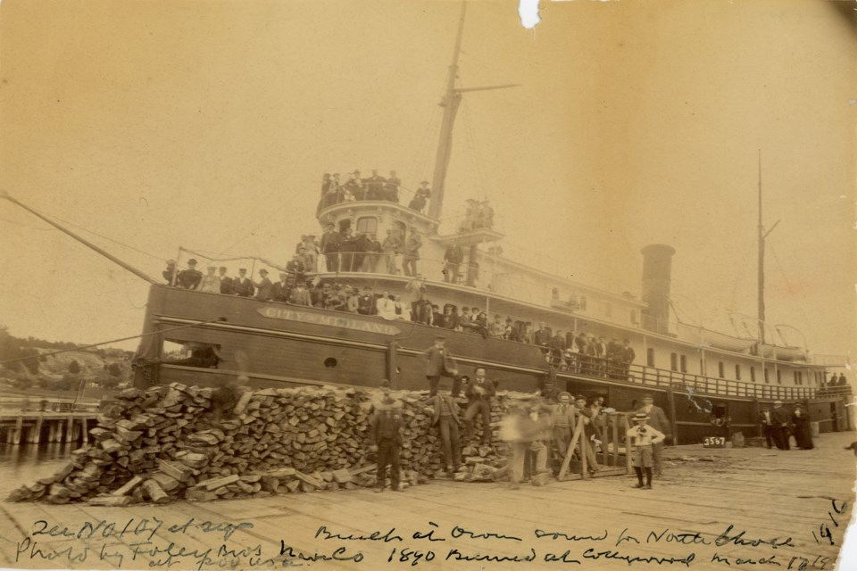 This photo of the City of Midland steamer was taken in