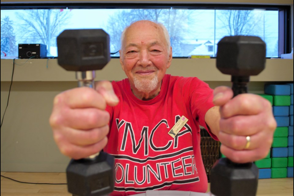 Harold Zukerman, 92, is an active volunteer with the Collingwood YMCA and Collingwood General and Marine Hospital. Jessica Owen/CollingwoodToday
