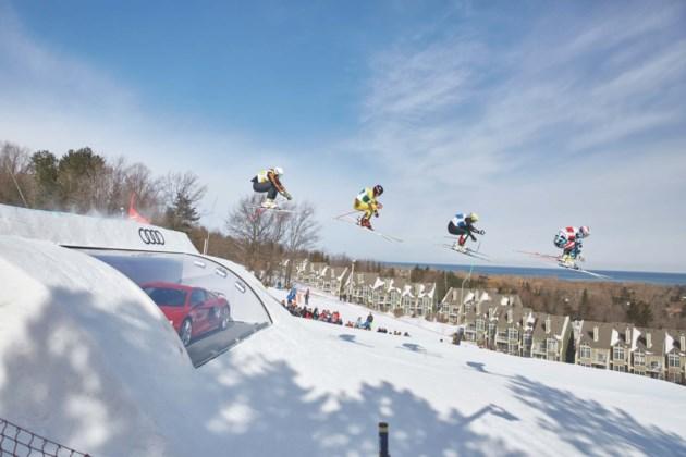 Ski Cross World Cup JUMP