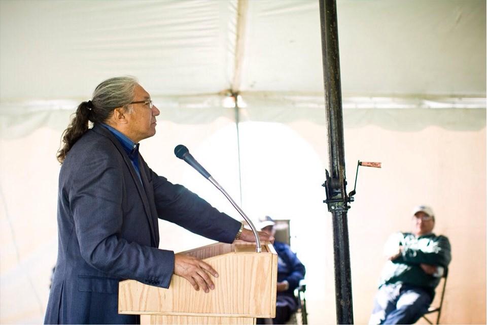 Algoma-Manitoulin candidate Charles Fox.  Photo by Adrienne Fox