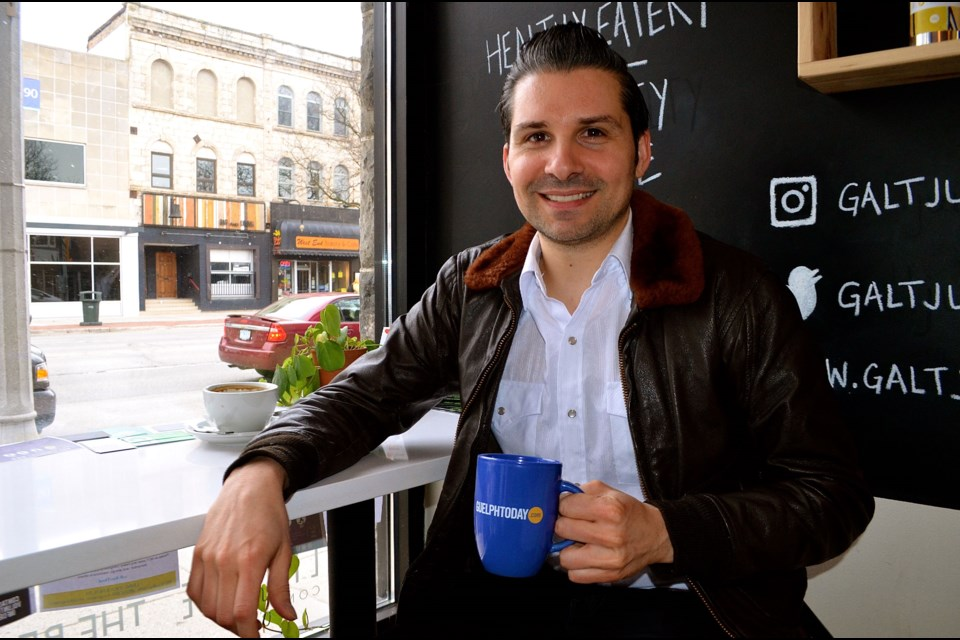 Variety and music is the spice of life for Guelph musician and publicist Tyler Belluz.  Troy Bridgeman for GuelphToday.com