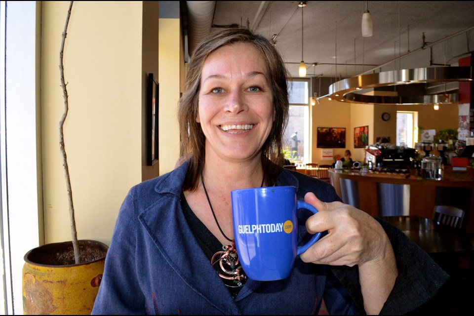Founder of Taste Detours, Lynn Broughton, enjoys introducing strangers to Guelph's culinary culture. Troy Bridgeman for GuelphToday