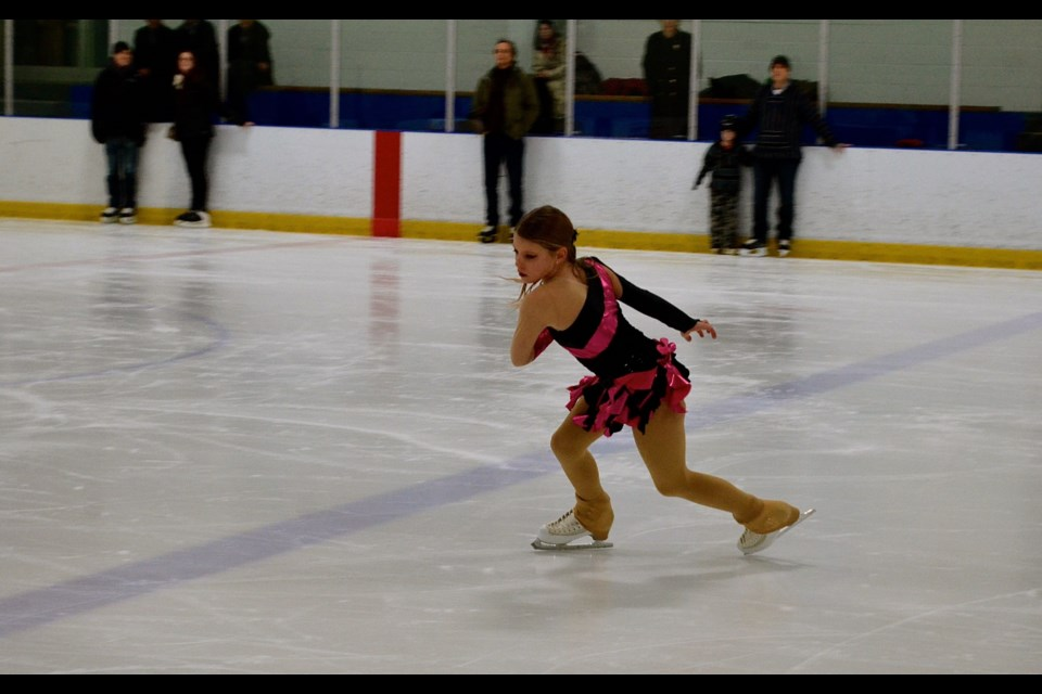 f3616444a2c Figure skater Audrey Brisbin performs at Guelph MP Lloyd Longfield s New  Years Levee Sunday. Troy