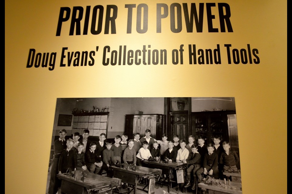 Prior to Power exhibit sign at the Wellington County Museum and Archives. Troy Bridgeman for GuelphToday.com