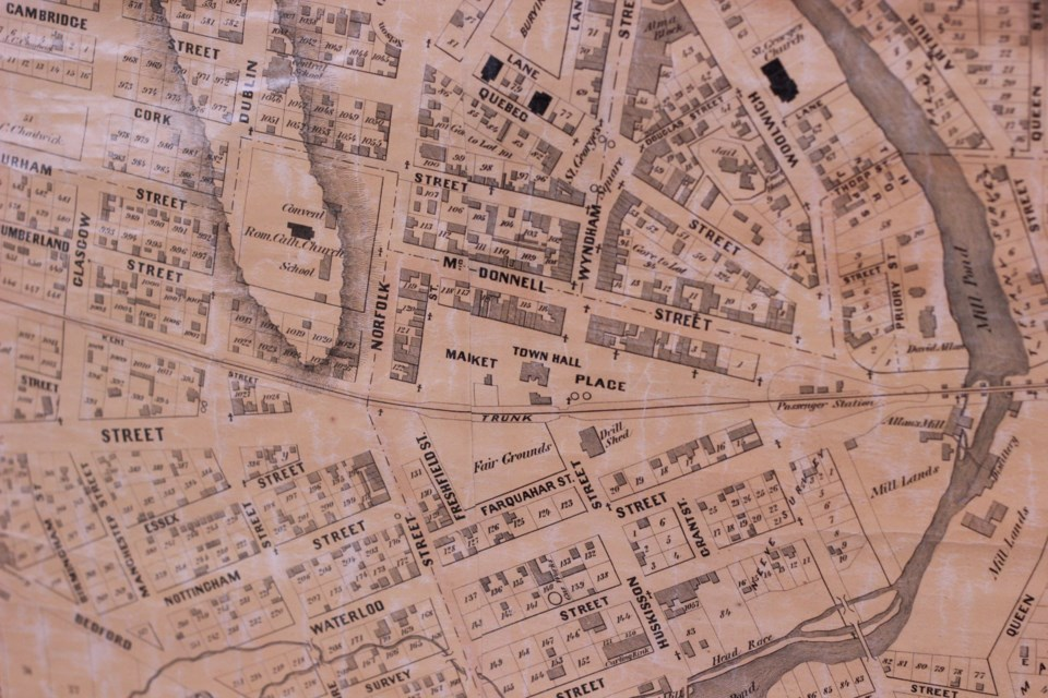 A closer look at the Cooper 1877 Map.