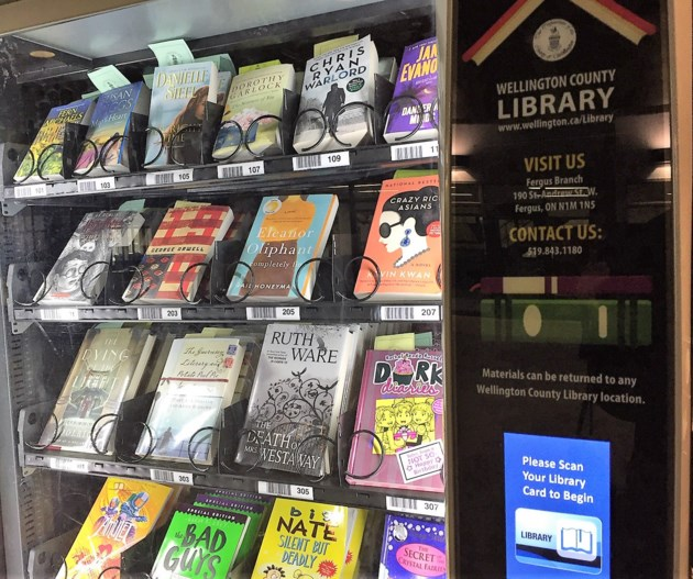 People are loving Wellington County's new library book vending machines