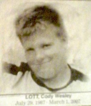 LOTT, Cody Wesley