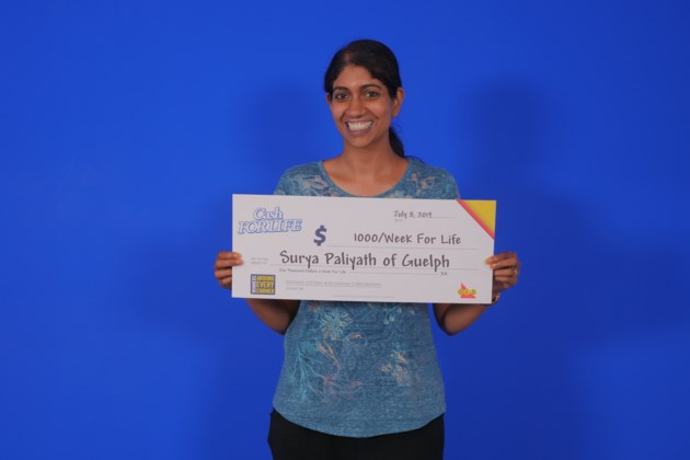 Guelph resident hits the jackpot with $675K lottery win
