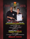 Sealy Karate 25th Anniversary Open House BBQ