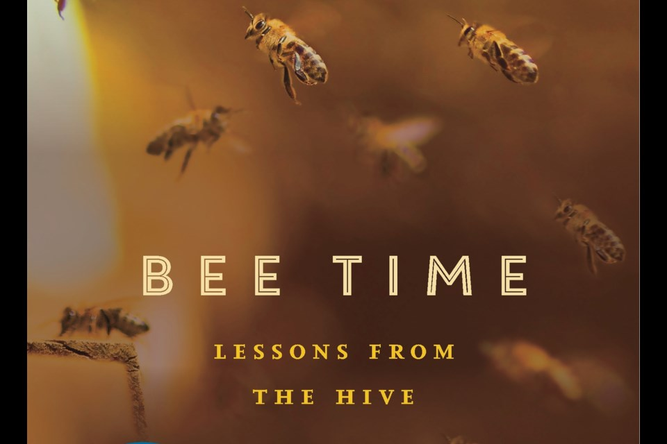 Bee expert Mark Winston, whose book Bee Time: Lessons From The Hive won a Governor General's Award, will be in Guelph this week. Supplied photo
