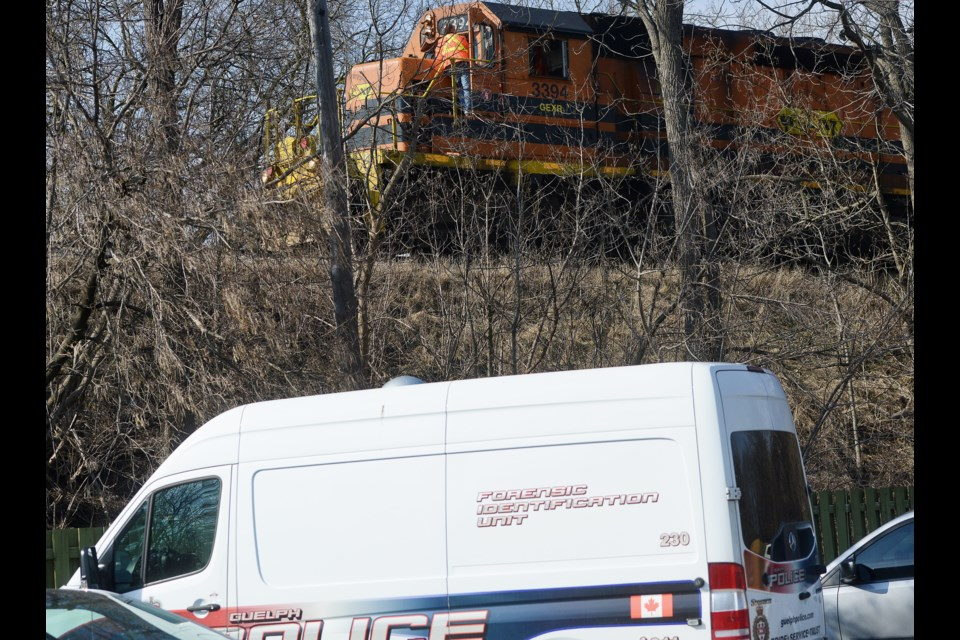 Pedestrian fatally struck by GO train in Guelph, investigators on scene