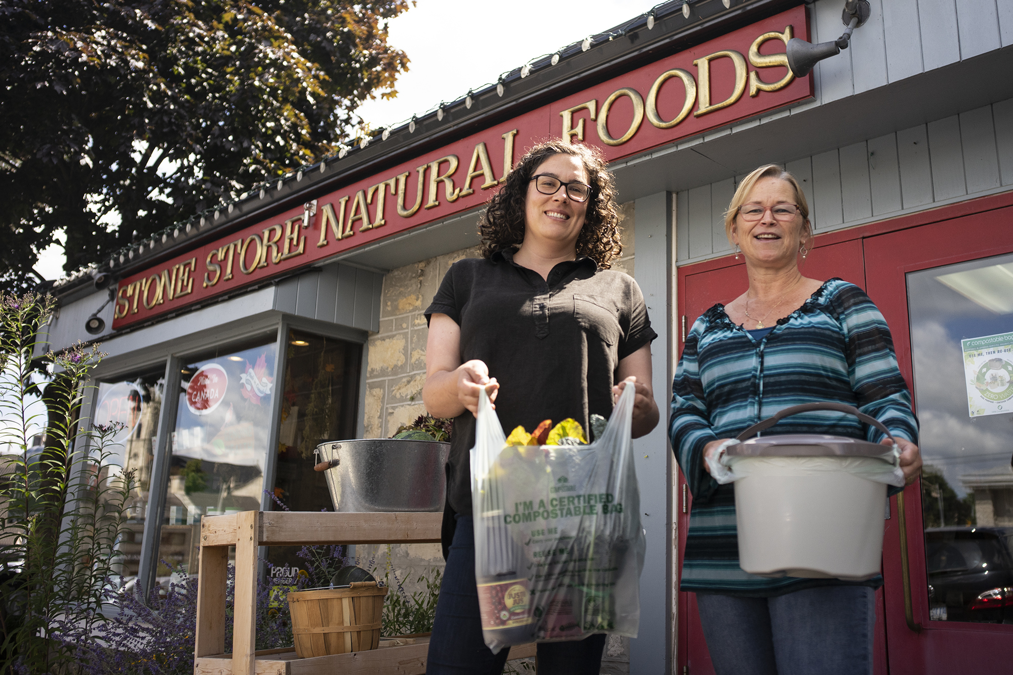 Compostable shopping bags come to some Guelph retailers