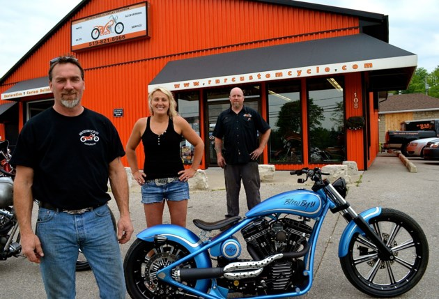 Local Business Its A Labour Of Love At Rnr Custom Cycle