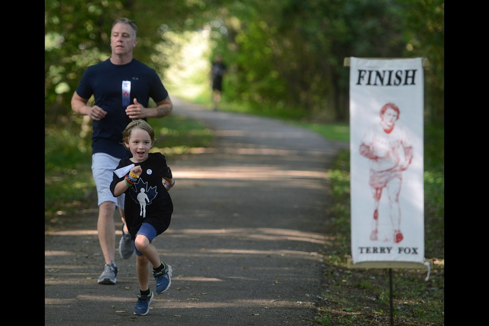 Terry Fox Run raises $2400 this past Sunday