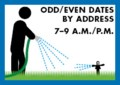 Outside water use program: Level 0 Blue