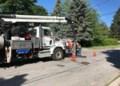 Sewer flushing program