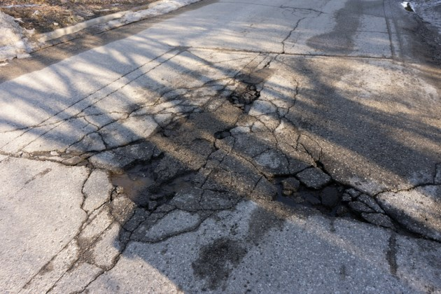 City crews putting in extra hours to combat pothole problem across the city
