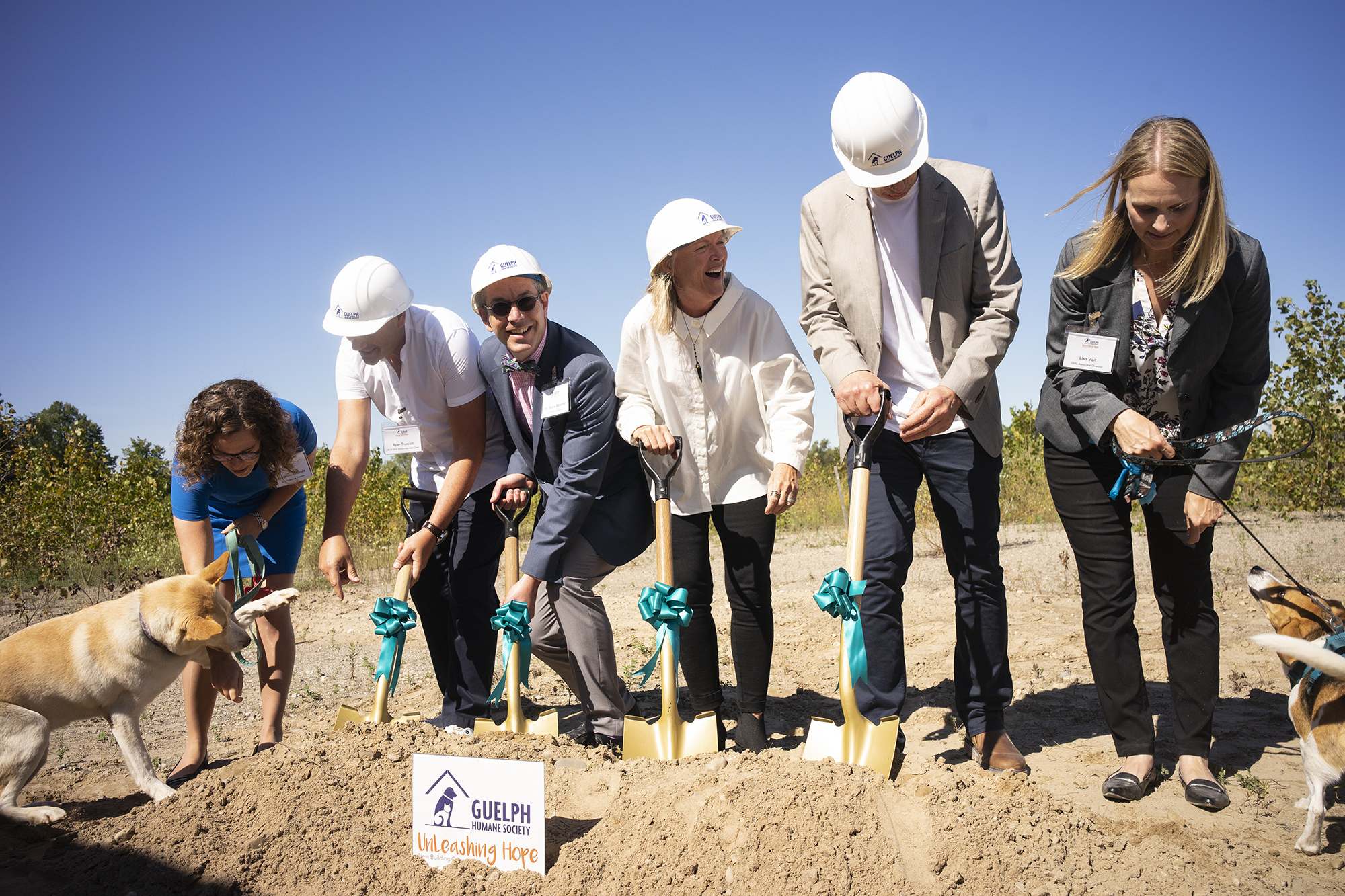 Guelph Humane Society breaks ground on its new home (8 photos)