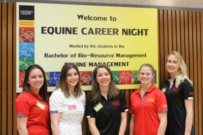 Equine career night U of G February 2016