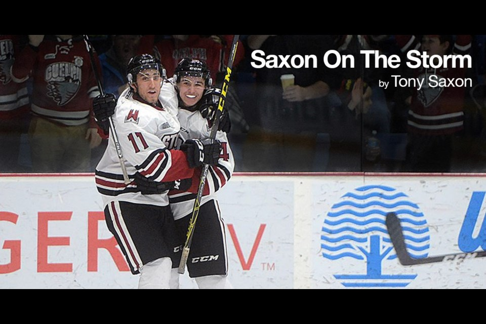 Saxon on the Storm