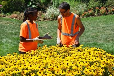 Gardens story - Letitia Uwamahoro and Carlos Poblete