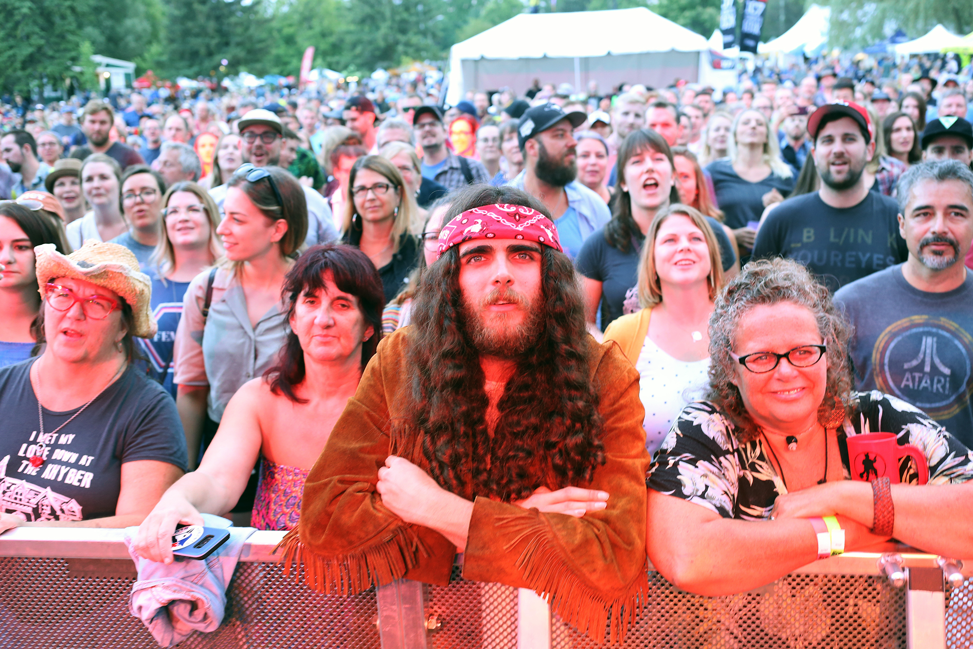The Sheepdogs, Men Without Hats and a little drizzle on opening day of Riverfest (17 photos)