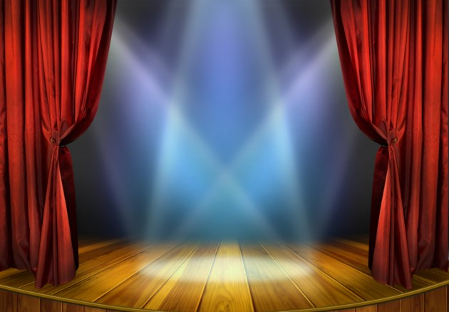 shutterstock music theatre stage