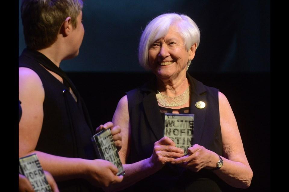 Women of Distinction recipient Rosalind Slate. Tony Saxon/GuelphToday