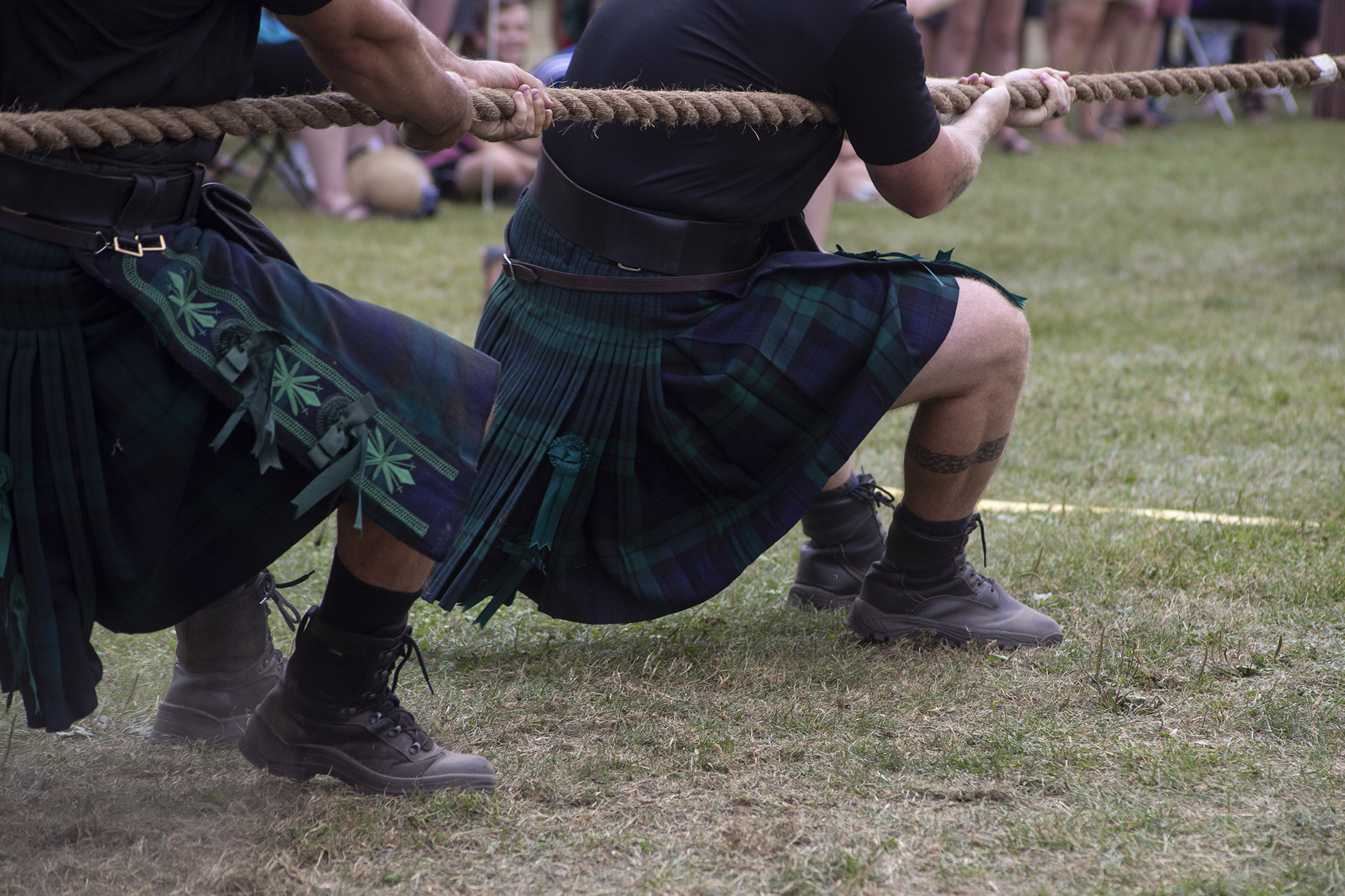 Warm up those bagpipes