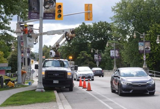 New crossing on Gordon Street being installed