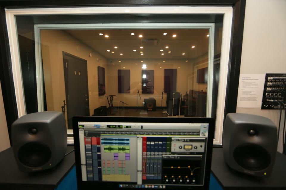 Royal City Studios. Control room. Photo credit Ken Sutherland