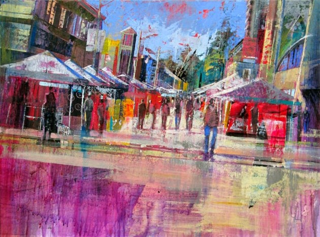 Art on the Street Plein Air - Copyright Ivano Stocco - approved for noncommercial use by Art on the Street organizers to promote event