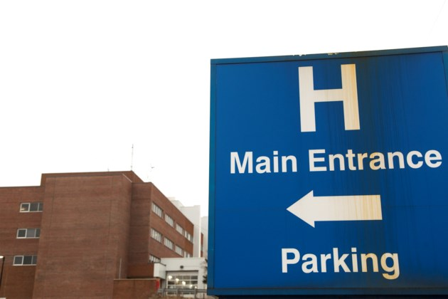 20160202 Guelph General Hospital Sign KA
