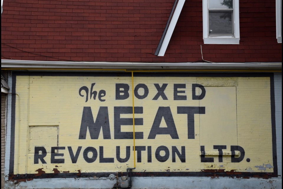 A revolution in meat. Another closed shop along York. Rob O'Flanagan/GuelphToday