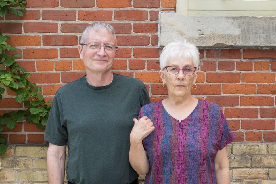 The Bookshelf founders Doug and Barb Minett will be honoured by the University of Guelph Thursday with honorary degrees. Kenneth Armstrong/GuelphToday