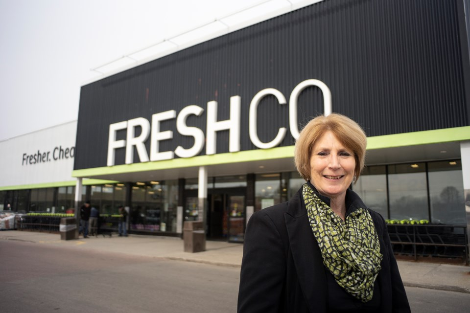 Susan Beirens has been the franchise owner of FreshCo for 15 years. Kenneth Armstrong/GuelphToday
