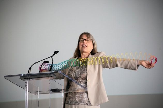 Nobel laureate Donna Strickland inspires at Women in STEM event